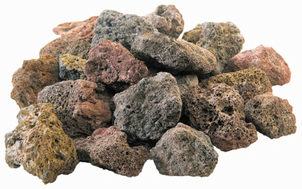 Natural Lava Rocks for Gas Grill 6-lb Use with Rock Grate Fit for Most Grills