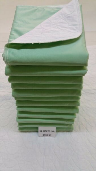 REUSABLE WASHABLE MEDICAL UNDERPADSBED PADS 29X35 OR CHAIRPAD 15X16 (USA)
