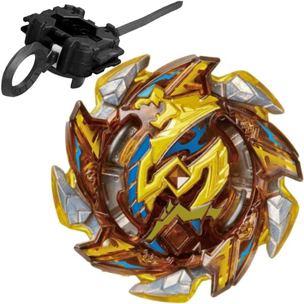 GOLD Hell Salamander Burst Beyblade STARTER SET w Launcher B-125 02 - USA SELLER