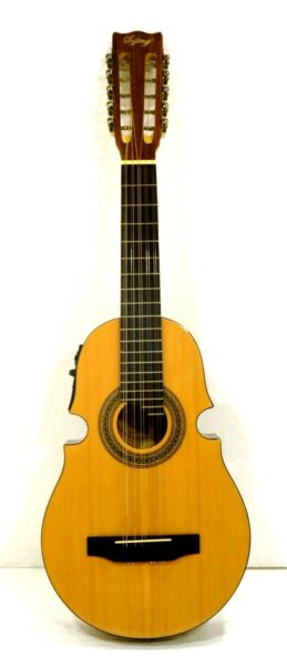 10 String Acoustic  Electric Puerto Rican Cuatro Guitar W3 Band EQ