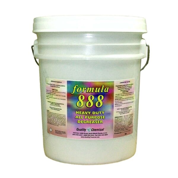 Formula 888-powerful fast acting degreaser-cleaner - 5 gallon pail