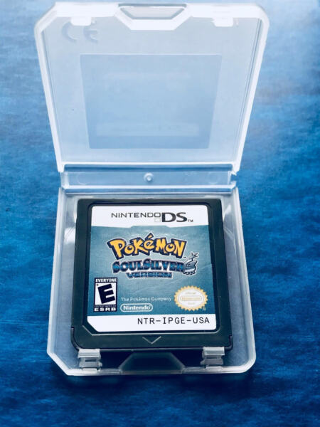 Pokemon Soul Silver Game For 3DS NDSI NDS NDSL Lite2 U.S Version