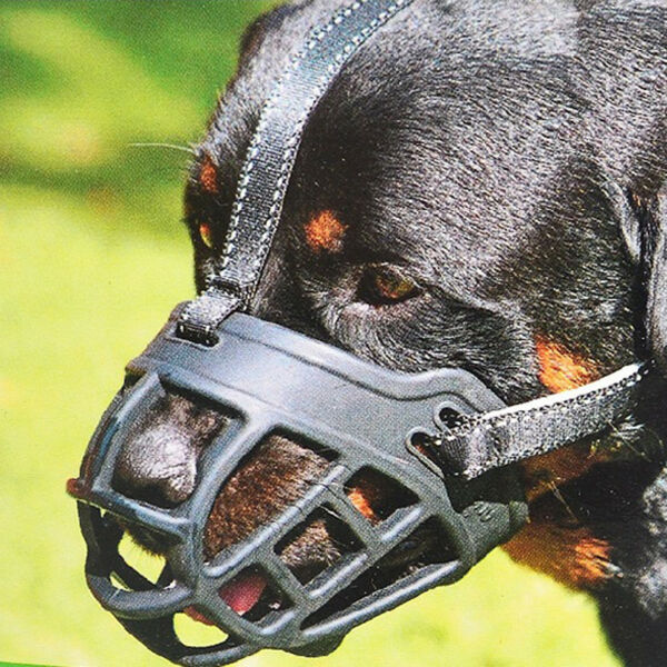 Dog Safety Muzzle Puppy Mouth Mask Nylon Mesh Cover for Barking Biting Chewing $11.99
