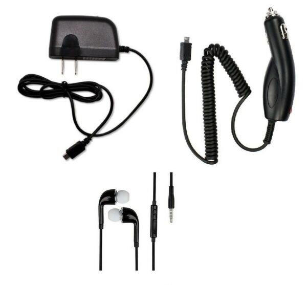 CARWALL CHARGERHEADSET FOR LG TRIBUTE EMPIRETRIBUTE DYNASTYRISIO 3ZONE 4
