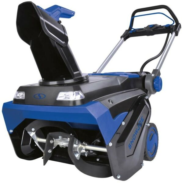 Snow Joe 21 in 100 Volt Max 5 Ah Single Stage Cordless Electric Snow Blower