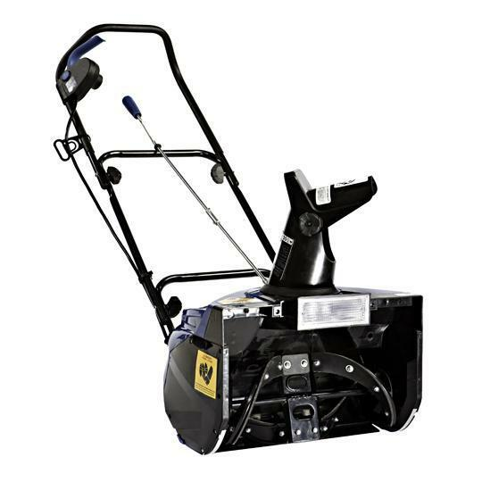 Snow Joe Electric Single Stage Snow Thrower  18-Inch  Certified Refurbished