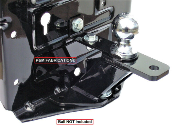 P&M Fabrication Universal Lawn Garden Tractor Hitch With Brace Kit Included
