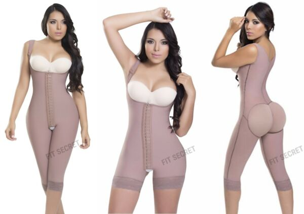 Faja Reductora Colombiana Post Surgery Powernet Women's Body Shaper Girdle