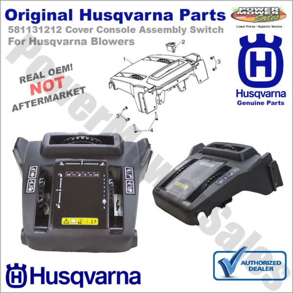 581131212 Husqvarna Cover Console Assembly Switch for Husqvarna Snow Blowers
