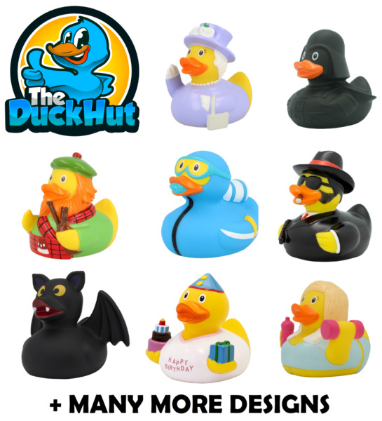 RUBBER DUCKS - BATH TOY - GIFT - The Duck Hut - Lilalu - OVER 200 TO COLLECT $9.12