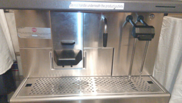 Thermoplan Black and White Starbucks CTS2 Bean to Cup Espresso Machine-UNTESTED