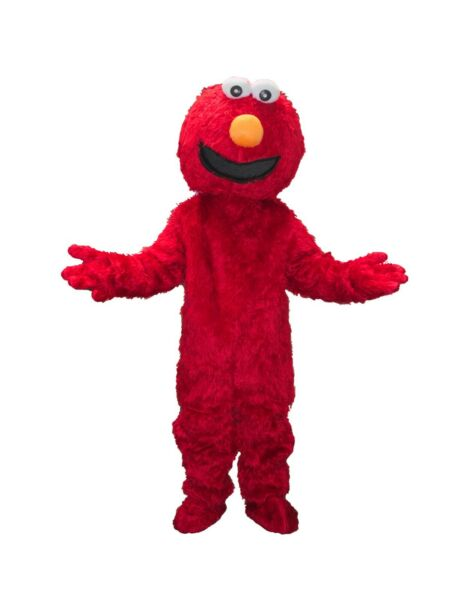 RENT ELMO Red Adult Mascot Costume Character Halloween Party Birthdays Events