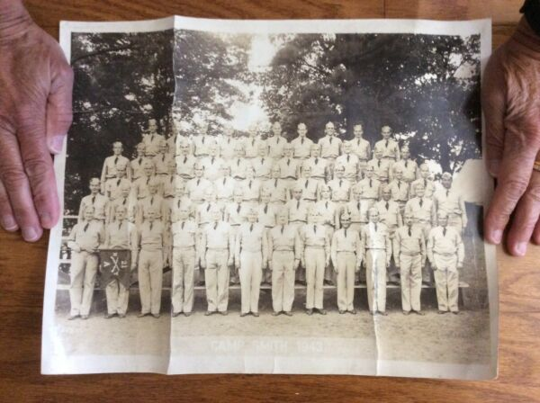 WWII 1943 Army Camp Smith 21st Infantry Regiment NYNG New York Unit Photo $16.95