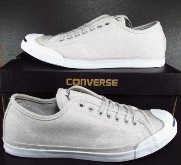 Converse Jack Purcell JP LP LS Ox Ash Grey Sneakers Men Sizes 154781C