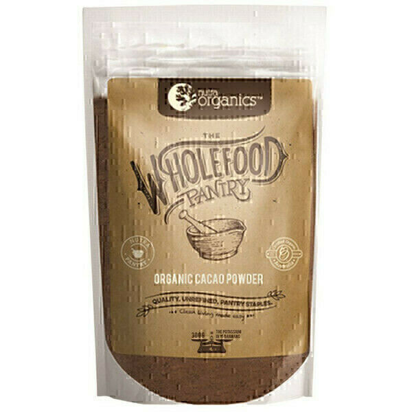 Nutra Organics The Wholefood Pantry Organic Cacao Powder 300g