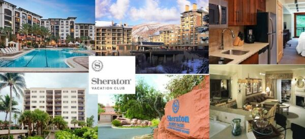 SHERATON FLEX VACATION POINTS,  81,000 POINTS, ANNUAL TIMESHARE