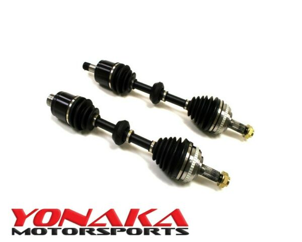 New Yonaka PAIR Acura RSX 02-06 Base Premium Performance Axles 300whp K20A Shaft