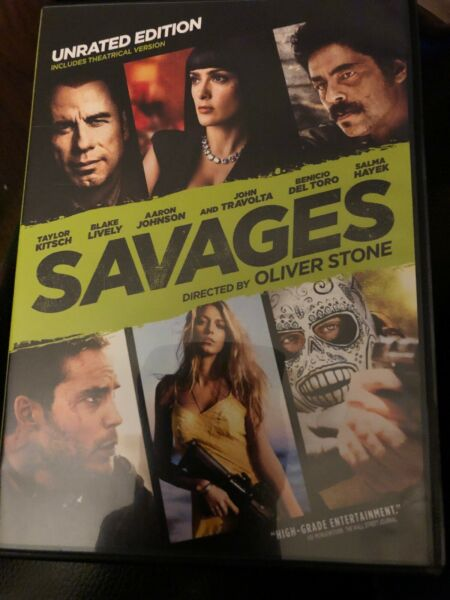 Savages John Travolta Salma Hayek and Survivor  Pierce Brosnan Brand New! FShip