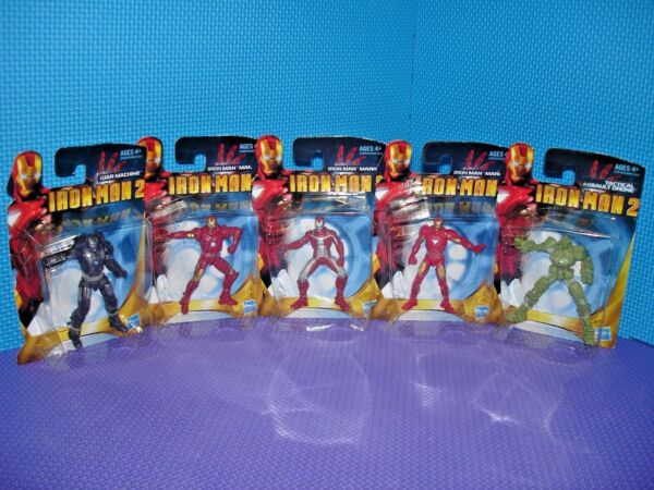 Iron Man 2 Complete Set of 5 Figures 3
