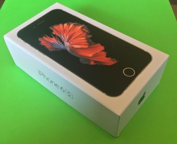 NEW Apple iPhone - 6s 64GB - Space Gray -  Factory Unlocked - Brand New