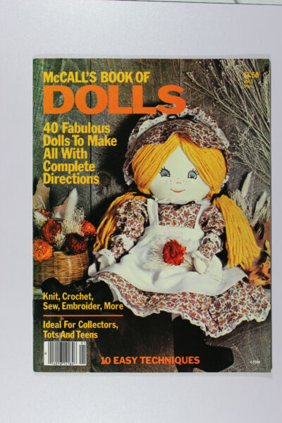 McCall's Book of Dolls - Knit Crochet Sew Embroider + More - 1978 - #C2