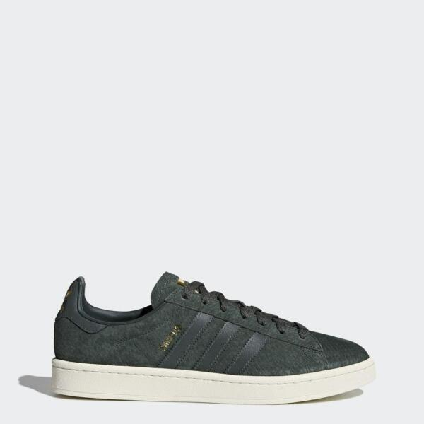 Mens Adidas Campus Utility Ivy Reflective Gold Metallic BZ0074