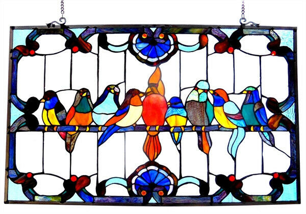 Stained Glass Window Panel 32