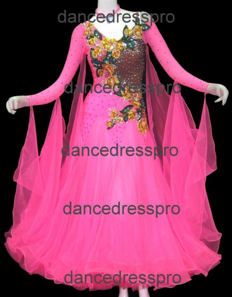 #2650 Ready made Ballroom Modern Waltz Tango Dance Dress