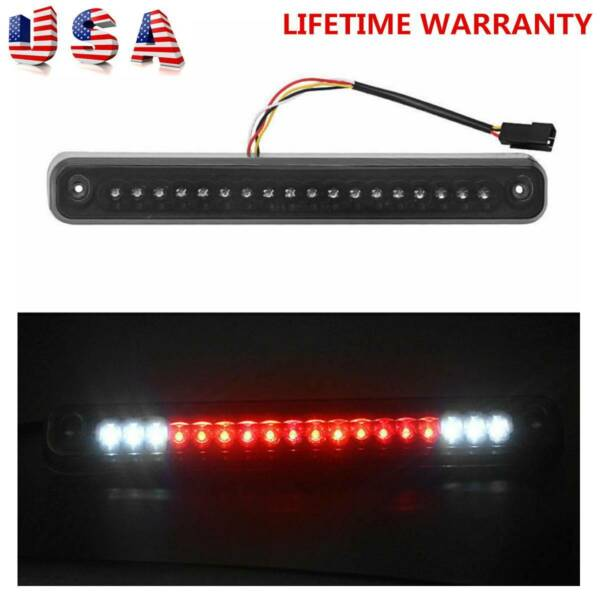 Smoke 1994-1999 Chevy GMC C/K C10 Full Size Silverado Sierra LED 3rd Brake Light