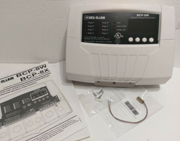 Mclain Boiler Control Panel BCP 8W Hydronic Sequence Ext Water 389900221 New $750.00