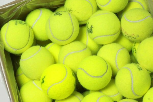 100 Used Tennis Balls - FREE SHIPPING - Today - Support our Non-profit!