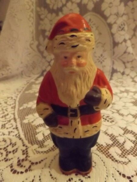 Vintage House of Hatten Traditional Santa 1994  Vintage Chocolate Mold Style 8