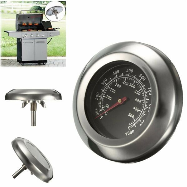 50~500 Degrees Celsius Roast BBQ Pit Smoker Grill Thermometer Temp Gauge QP