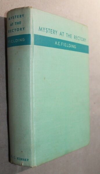 A.E FIELDING first edition Kinsey MYSTERY AT THE RECTORY Chief Inspector Pointer