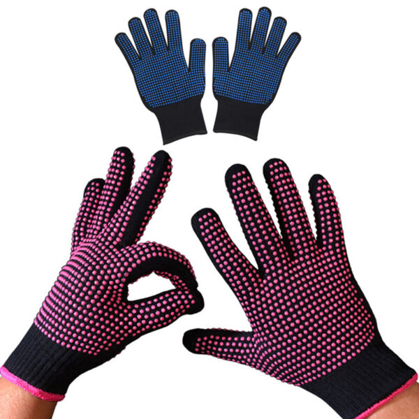 Silicone Kitchen Heat Resistant Glove Oven Pot Holder Baking BBQ Cooking Mitts