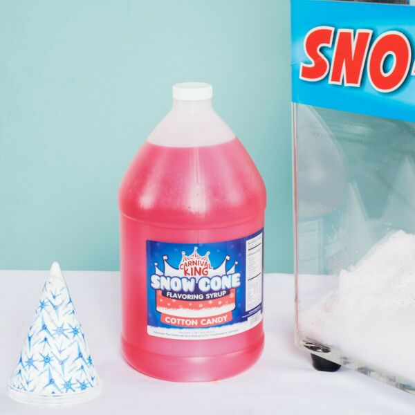 (1 Gallon) Premium Carnival King State Fair Cotton Candy Snow Cone Syrup