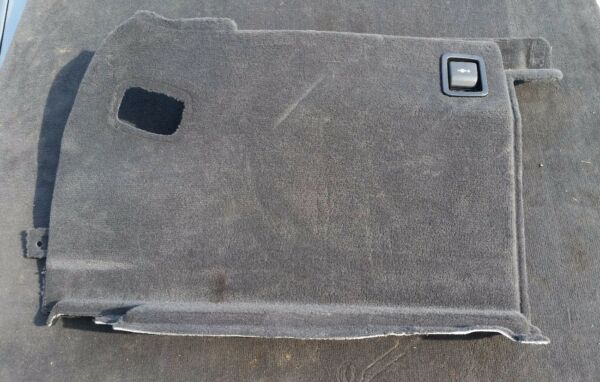 BMW E61 5er Touring Trunk Boot Right Side Trim Black Verkleidung Kofferraum OEM