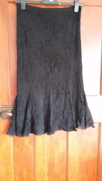 Bonmarche ladies skirtblacksize14lined new no tag