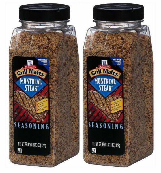 Lot of 2 McCormick Grill Mates Montreal Steak Seasoning (29 oz.)*BEST PRICE**
