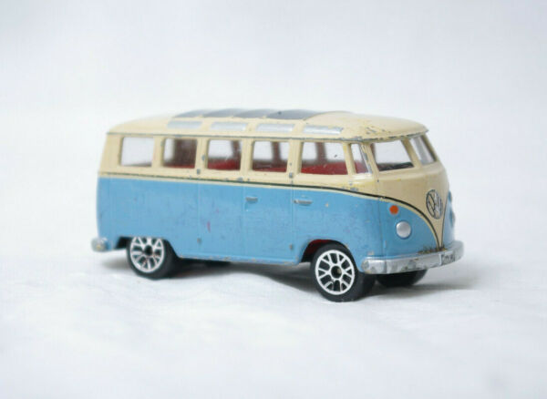 P044 78 Realtoy Blue VW Microbus Small Car Toy GBP 3.00