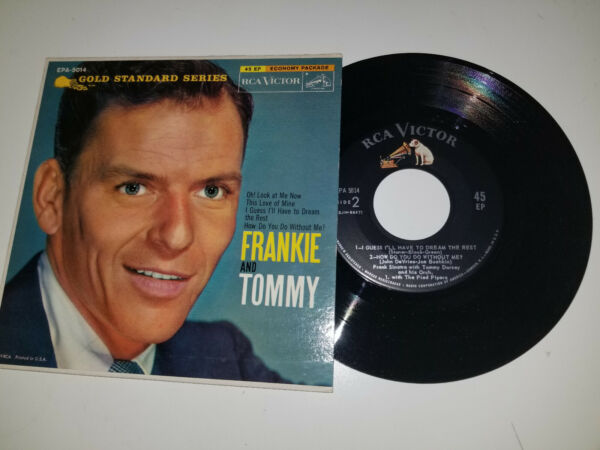 FRANKIE AND TOMMY Gold Standard Series RCA 5014 EP WITH PS 45 VINYL 7quot; RECORD $8.99