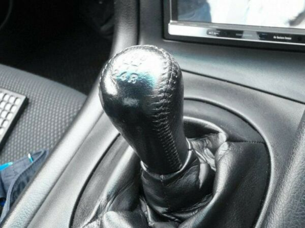 MAZDA 93-02 RX-7 FD3S Genuine Black Leather Shift Knob FS EP with Tracking