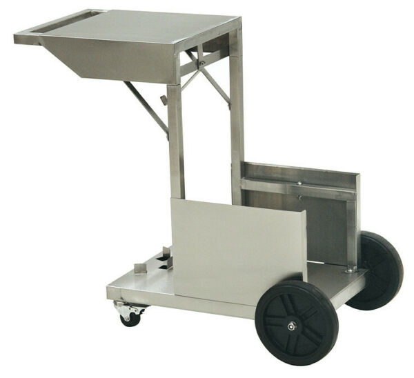 Bayou Classic Stainless Steel Accessory Cart for 4-Gallon Fryer - Model 700-185