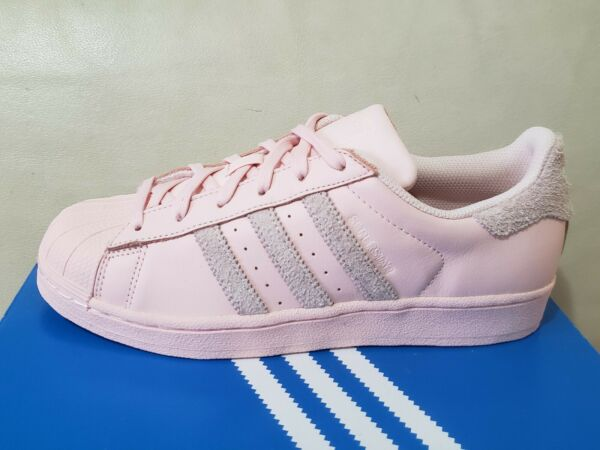 Womens ADIDAS SUPERSTAR W icey PINK Athletic Shoes DB1056 Originals Classic
