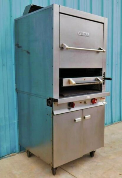Vulcan-Hart Infrared Broiler Model# GHIR44 w Finishing Oven and Storage Base
