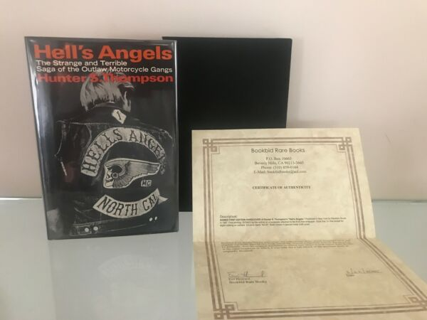 Hunter S. Thompson - Hell's Angels - Signed First Edition First Printing wCOA