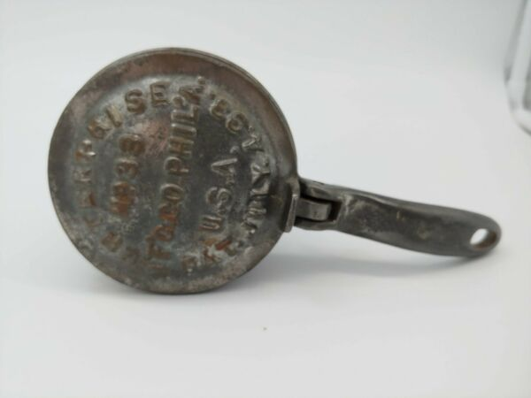 Authentic Cast Iron Ice Shaver: Phila USA: Pat July 4 1893