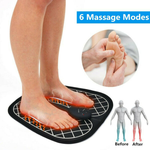 Low Frequency EMS Foot Massager Mat Electric Vibrator Wireless Muscle Stimulator