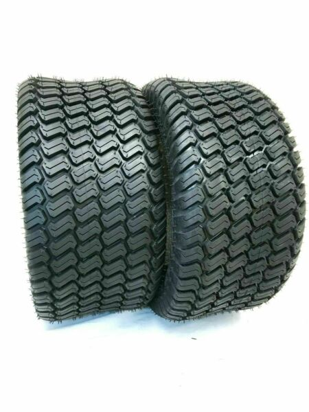 Set TWO 15x6.00 6 Lawn Tractor 4 Ply Rated Heavy Duty 15x6 6 NHS