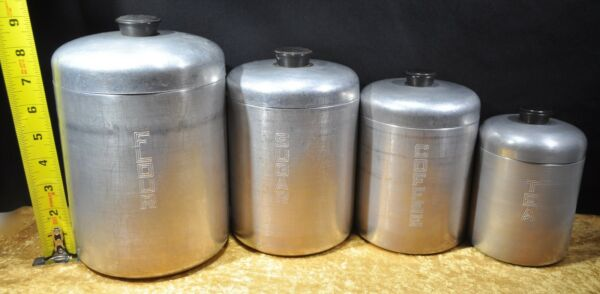 Vintage Pantry Queen West Germany Kitchen Canisters